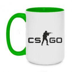 Кружка двухцветная 420ml Counter Strike GO