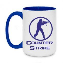 Кружка двухцветная 420ml Counter Strike
