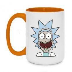 Кружка двухцветная 420ml Crazy Rick