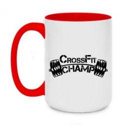 Кружка двухцветная 420ml CrossFit Champ