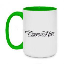 Кружка двухцветная 420ml Cypress Hill