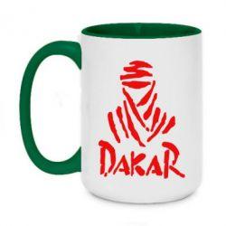 Кружка двоколірна 420ml Dakar