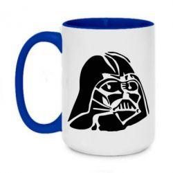 Кружка двухцветная 420ml Darth Vader