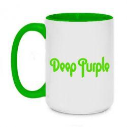 Кружка двоколірна 420ml Deep Purple