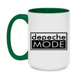 Кружка двоколірна 420ml Depeche Mode Rock