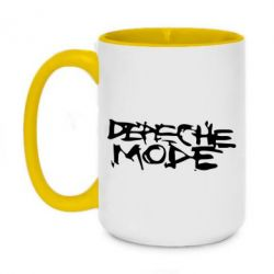 Кружка двухцветная 420ml Depeche mode