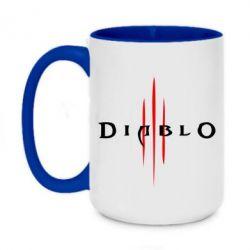 Кружка двоколірна 420ml Diablo 3