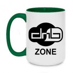 Кружка двухцветная 420ml DnB Zone