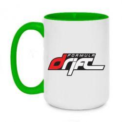 Кружка двухцветная 420ml Drift Formula - FatLine