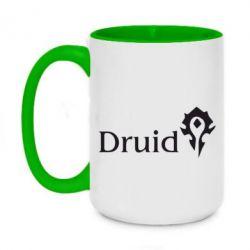 Кружка двухцветная 420ml Druid Orc