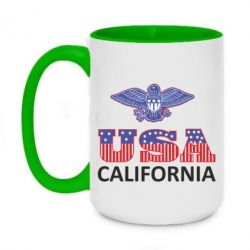 Кружка двухцветная 420ml Eagle USA