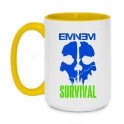 Кружка двоколірна 420ml Eminem Survival