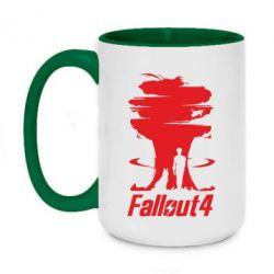 Кружка двухцветная 420ml Fallout 4 Art