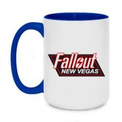 Кружка двухцветная 420ml Fallout New Vegas