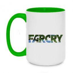 Кружка двухцветная 420ml Far Cry Island