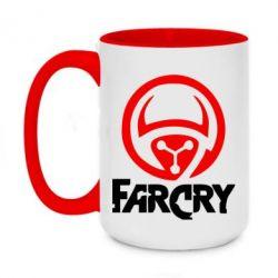 Кружка двухцветная 420ml FarCry LOgo - FatLine