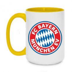 Кружка двоколірна 420ml FC Bayern Munchen