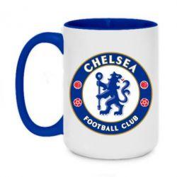 Кружка двухцветная 420ml FC Chelsea