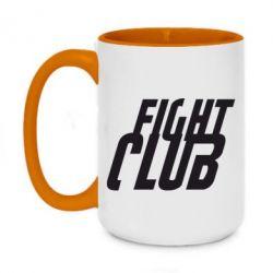 Кружка двоколірна 420ml Fight Club