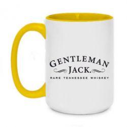 Кружка двухцветная 420ml Gentleman Jack