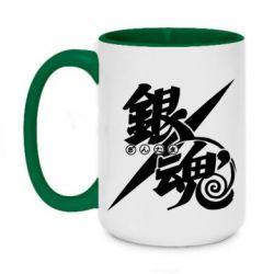 Кружка двоколірна 420ml Gintama