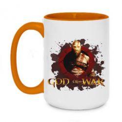 Кружка двоколірна 420ml God of War