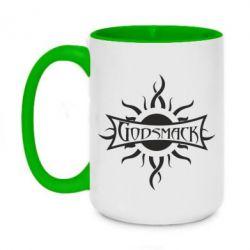 Кружка двухцветная 420ml Godsmack - FatLine