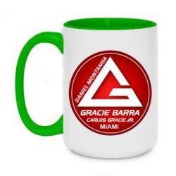 Кружка двоколірна 420ml Gracie Barra Miami
