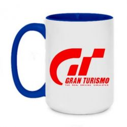 Кружка двухцветная 420ml Gran Turismo