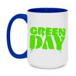Кружка двухцветная 420ml Green Day