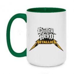 Кружка двухцветная 420ml Guitar Hero Metallica - FatLine