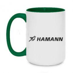 Кружка двоколірна 420ml Hamann