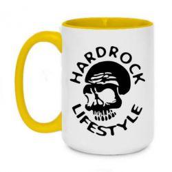 Кружка двоколірна 420ml Hardrock lifestyle