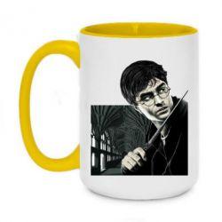 Кружка двухцветная 420ml Harry Potter