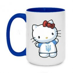 Кружка двухцветная 420ml Hello Kitty UA