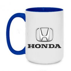 Кружка двухцветная 420ml Honda 3D Logo
