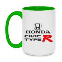 Кружка двоколірна 420ml Honda Civic Type R