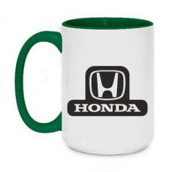 Кружка двухцветная 420ml Honda Stik