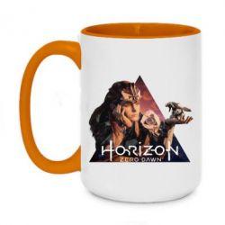 Кружка двоколірна 420ml Horizon Zero Dawn