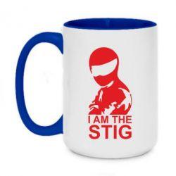 Кружка двухцветная 420ml I am the Stig - FatLine