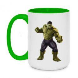Кружка двоколірна 420ml Incredible Hulk 2
