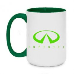 Кружка двухцветная 420ml Infiniti