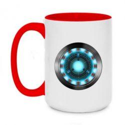 Кружка двухцветная 420ml Iron Man Device