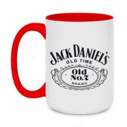 Кружка двухцветная 420ml Jack Daniel's Old Time