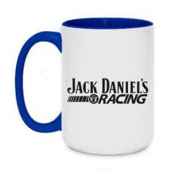 Кружка двоколірна 420ml Jack daniel's Racing