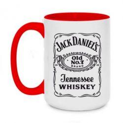 Кружка двоколірна 420ml Jack daniel's Whiskey