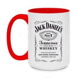 Кружка двухцветная 420ml Jack Daniel's