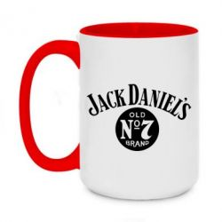 Кружка двухцветная 420ml Jack