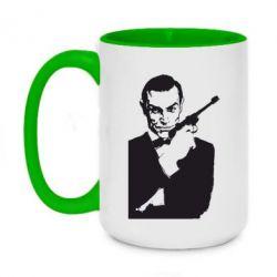 Купить 007, Кружка двухцветная 420ml James Bond, FatLine