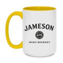 Кружка двоколірна 420ml Jameson Whiskey